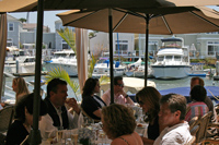 Dining at The Dock